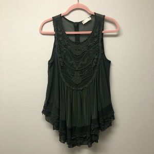 Altar'd State Timeless Lace Tank Top